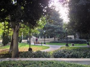 LA Central Library Park